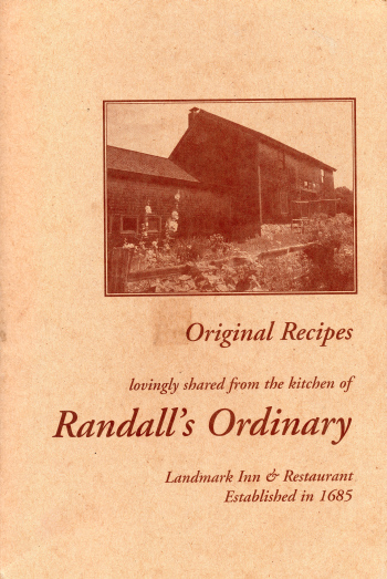 Randall's Ordinary Original Recipes