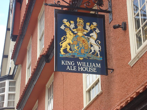 King William Ale House Sign