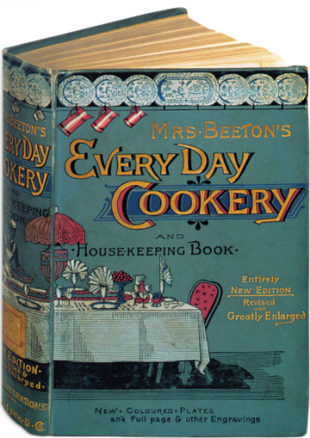 Mrs. Beeton's Book Cover