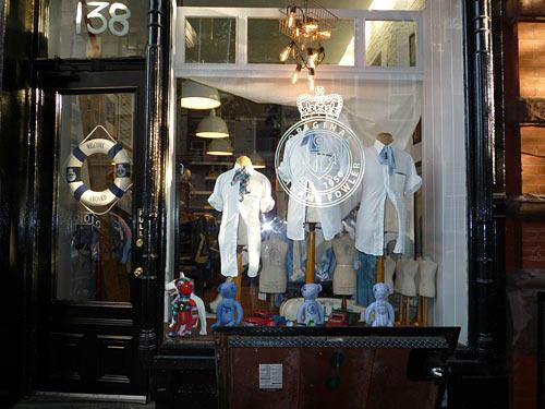 Grahame Fowler shop window