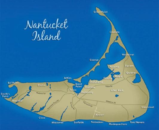 The island of Nantucket