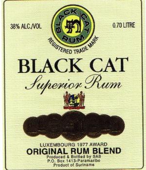 Black Cat Superior Rum