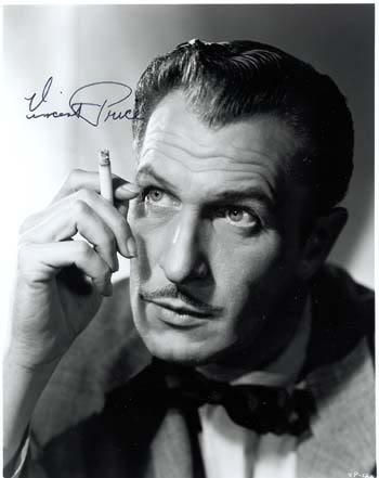 Vincent Price Headshot