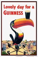 Guinness Toucan Poster