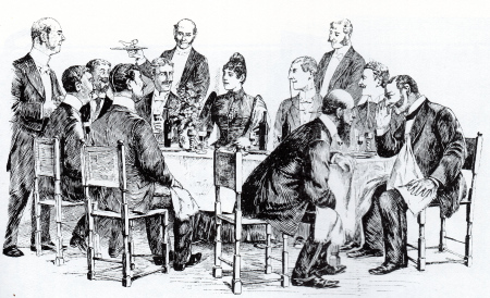 Victorian Dinners with 1 Lady