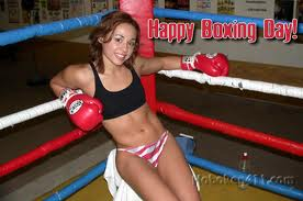 Boxing Day Funny Picture