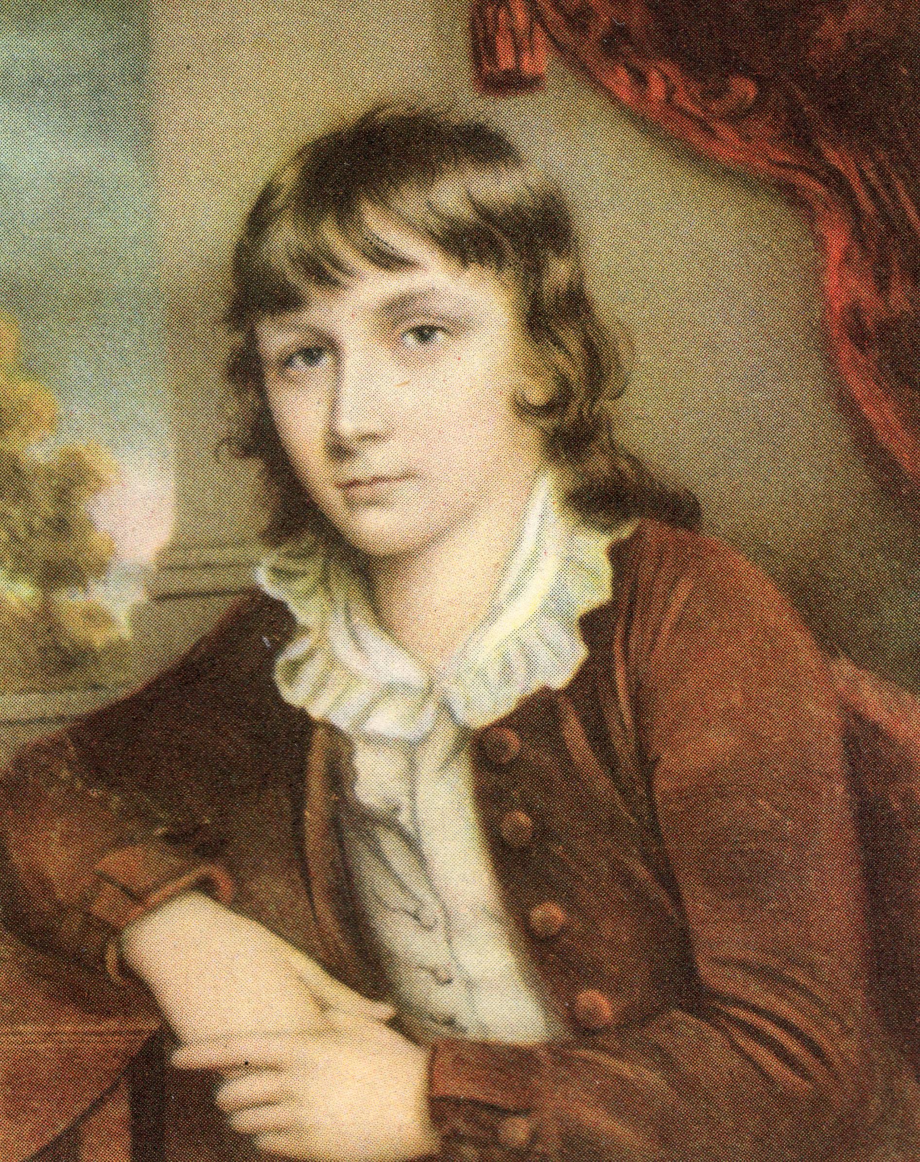 Portrait of Margaret Hazlitt, Sister of - John Hazlitt as