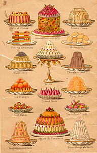 Cakes of old
