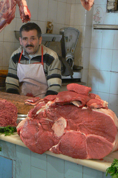 Butcher in Tangiers