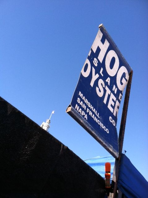 Hog Island Oyster Company Sign